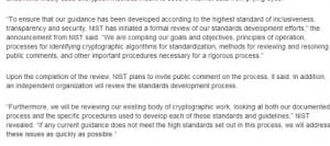 NIST Crypto