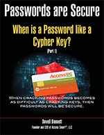 When is a Password like a Cypher Key cover