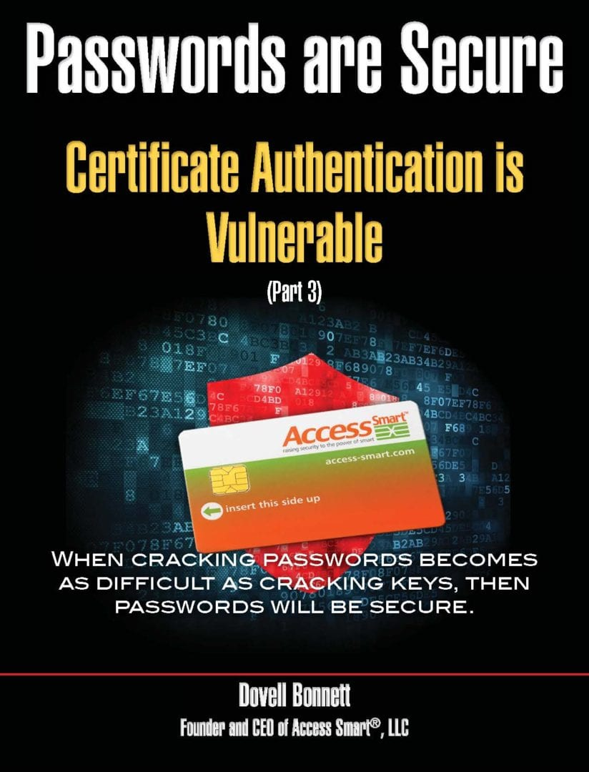 Certificate Authentication is Vulnerable